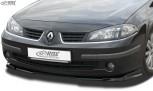 RDX Frontspoiler VARIO-X RENAULT Laguna 2 Phase 2 2005+ Frontlippe Front Ansatz Vorne Spoilerlippe