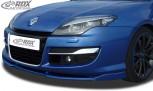 RDX Frontspoiler VARIO-X RENAULT Laguna 3 Phase 2 / Facelift 2011+ Frontlippe Front Ansatz Vorne Spoilerlippe