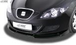 RDX Frontspoiler VARIO-X SEAT Leon 1P -2009 (nicht FR, Cupra) Frontlippe Front Ansatz Vorne Spoilerlippe