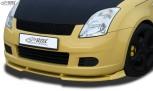 RDX Frontspoiler VARIO-X SUZUKI Swift MZ/EZ 2005-2008 Frontlippe Front Ansatz Vorne Spoilerlippe