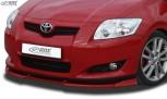 RDX Frontspoiler VARIO-X TOYOTA Auris E150 (-2010) Frontlippe Front Ansatz Vorne Spoilerlippe