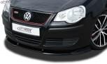 RDX Frontspoiler VARIO-X VW Polo 9N3 2005+ incl. GTI Frontlippe Front Ansatz Vorne Spoilerlippe