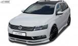 RDX Frontspoiler VARIO-X VW Passat B7 / 3C Frontlippe Front Ansatz Vorne Spoilerlippe