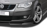RDX Frontspoiler VARIO-X VW Touran 2007+ Frontlippe Front Ansatz Vorne Spoilerlippe
