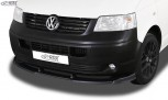 RDX Frontspoiler VARIO-X VW T5 -2009 (für werkseitig unlackierte Stoßstange wie Transporter, …) Frontlippe Front Ansatz Vorne Spoilerlippe
