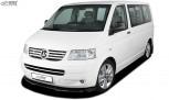 RDX Frontspoiler VARIO-X VW T5 -2009 (für werkseitig lackierte Stoßstange wie Multivan, …) Frontlippe Front Ansatz Vorne Spoilerlippe