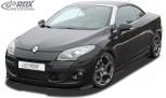 RDX Frontspoiler VARIO-X RENAULT Megane 3 Coupe / Cabrio / CC (-2012) Frontlippe Front Ansatz Vorne Spoilerlippe