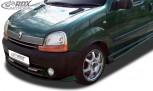 RDX Frontspoiler VARIO-X RENAULT Kangoo 1 (1998-2003) Frontlippe Front Ansatz Vorne Spoilerlippe