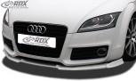 RDX Frontspoiler VARIO-X AUDI TT 8J Facelift 2010+ Frontlippe Front Ansatz Vorne Spoilerlippe