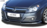 RDX Frontspoiler VARIO-X Opel Astra H 4/5 türig Frontlippe Front Ansatz Vorne Spoilerlippe