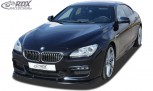 RDX Frontspoiler VARIO-X BMW 6er F06 Gran Coupe (M-Technik Frontstoßstange) Frontlippe Front Ansatz Vorne Spoilerlippe