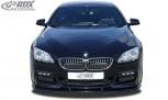 RDX Frontspoiler VARIO-X für BMW 6er F06 Gran Coupe (M-Technik Frontstoßstange) Frontlippe Front Ansatz Vorne Spoilerlippe