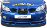 RDX Frontspoiler VARIO-X SUBARU Impreza 3 (GD) WRX 2005-2007 Frontlippe Front Ansatz Vorne Spoilerlippe