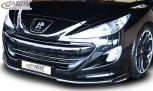 RDX Frontspoiler VARIO-X für PEUGEOT RCZ Phase 1 -2013 Frontlippe Front Ansatz Vorne Spoilerlippe