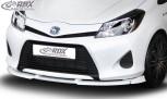 RDX Frontspoiler VARIO-X TOYOTA Yaris Hybrid P13 Frontlippe Front Ansatz Vorne Spoilerlippe