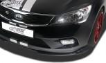 RDX Frontspoiler VARIO-X KIA Ceed Typ ED 2009-2012 (auch SW) Frontlippe Front Ansatz Vorne Spoilerlippe