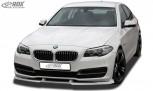 RDX Frontspoiler VARIO-X BMW 5er F10 / F11 Facelift 2013+ Frontlippe Front Ansatz Vorne Spoilerlippe