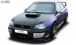RDX Frontspoiler VARIO-X SUBARU Impreza 3 (GD) WRX STI 2003-2005 Frontlippe Front Ansatz Vorne Spoilerlippe