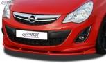 RDX Frontspoiler VARIO-X OPEL Corsa D Facelift OPC-Line 2010+ (Passend an Fahrzeuge mit OPC-Line Frontspoileransatz) Frontlippe Front Ansatz Vorne Spoilerlippe