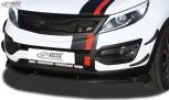RDX Frontspoiler VARIO-X KIA Sportage (SL) Frontlippe Front Ansatz Vorne Spoilerlippe