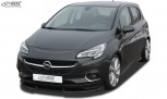 RDX Frontspoiler VARIO-X für OPEL Corsa E Frontlippe Front Ansatz Vorne Spoilerlippe