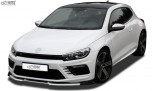 RDX Frontspoiler VARIO-X VW Scirocco 3 R (2014+) Frontlippe Front Ansatz Vorne Spoilerlippe