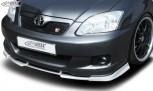 RDX Frontspoiler VARIO-X TOYOTA Corolla E12 TS (2004-2007) Frontlippe Front Ansatz Vorne Spoilerlippe