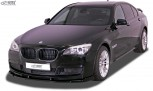 RDX Frontspoiler VARIO-X für BMW 7er F01 / F02 i.V.m. M-Paket (2008-2015) Frontlippe Front Ansatz Vorne Spoilerlippe