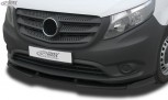 RDX Frontspoiler VARIO-X MERCEDES Vito W447 2014+ Frontlippe Front Ansatz Vorne Spoilerlippe