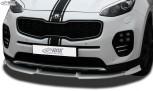 RDX Frontspoiler VARIO-X KIA Sportage (QL) Frontlippe Front Ansatz Vorne Spoilerlippe