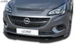 RDX Frontspoiler VARIO-X OPEL Corsa E OPC 2015+ Frontlippe Front Ansatz Vorne Spoilerlippe