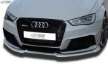 RDX Frontspoiler VARIO-X AUDI RS3 8V 2015+ Frontlippe Front Ansatz Vorne Spoilerlippe