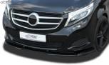 RDX Frontspoiler VARIO-X MERCEDES V-Klasse W447 2014+ Frontlippe Front Ansatz Vorne Spoilerlippe