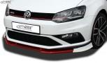 RDX Frontspoiler VARIO-X VW Polo 6C GTI Frontlippe Front Ansatz Vorne Spoilerlippe