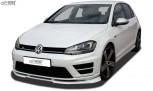 RDX Frontspoiler VARIO-X VW Golf 7 R Frontlippe Front Ansatz Vorne Spoilerlippe
