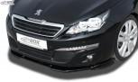 RDX Frontspoiler VARIO-X PEUGEOT 308 (Typ L) 2013-2017 Frontlippe Front Ansatz Vorne Spoilerlippe