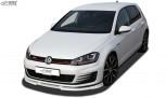 RDX Frontspoiler VARIO-X VW Golf 7 GTI / GTD Frontlippe Front Ansatz Vorne Spoilerlippe