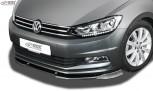 RDX Frontspoiler VARIO-X VW Touran 5T 2015+ Frontlippe Front Ansatz Vorne Spoilerlippe
