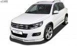 RDX Frontspoiler VARIO-X VW Tiguan (2011-2016) R-Line Frontlippe Front Ansatz Vorne Spoilerlippe