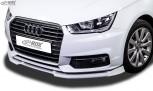 RDX Frontspoiler VARIO-X für AUDI A1 8X & A1 8XA Sportback (01/2015+, nicht S-Line) Frontlippe Front Ansatz Vorne Spoilerlippe