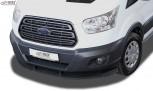 RDX Frontspoiler VARIO-X für FORD Transit MK7 2014-2018 Frontlippe Front Ansatz Vorne Spoilerlippe