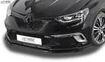 RDX Frontspoiler VARIO-X  RENAULT Megane 4 Limousine & Grandtour für GT & GT-Line Frontlippe Front Ansatz Vorne Spoilerlippe