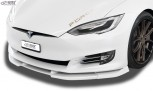 RDX Frontspoiler VARIO-X TESLA Model S 2016+ Frontlippe Front Ansatz Vorne Spoilerlippe