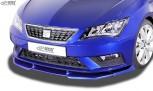 RDX Frontspoiler VARIO-X SEAT Leon 5F Facelift 2017+ (auch SC und ST) Frontlippe Front Ansatz Vorne Spoilerlippe