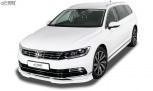 RDX Front Spoiler VARIO-X VW Passat 3G B8 R-Line Front Lip Splitter