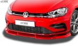 RDX Frontspoiler VARIO-X VW Golf 7 Facelift 2017+ R-Line Frontlippe Front Ansatz Vorne Spoilerlippe