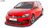 RDX Frontspoiler VARIO-X VW Golf 7 Facelift 2017+ R-Line & R Frontlippe Front Ansatz Vorne Spoilerlippe