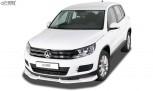 RDX Frontspoiler VARIO-X VW Tiguan (2011-2016) Frontlippe Front Ansatz Vorne Spoilerlippe