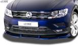 RDX Frontspoiler VARIO-X VW Tiguan (2016+) Frontlippe Front Ansatz Vorne Spoilerlippe
