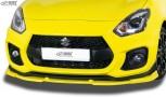 RDX Frontspoiler VARIO-X SUZUKI Swift Sport RZ/AZ 2018+ Frontlippe Front Ansatz Vorne Spoilerlippe